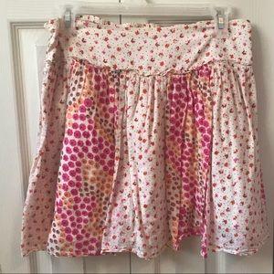 American Eagle Floral Skirt